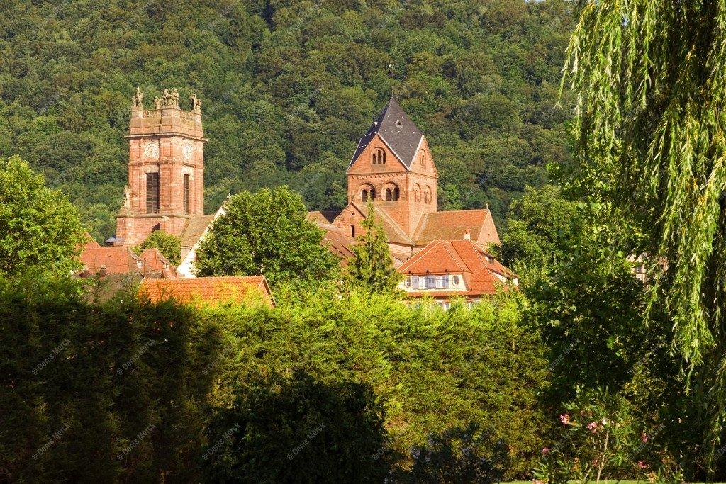 Alsace : abbatiale de Neuwiller-les-Saverne