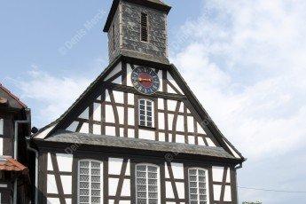 Alsace : l'église protestante de Kuhlendorf