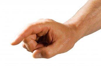 doigt masculin