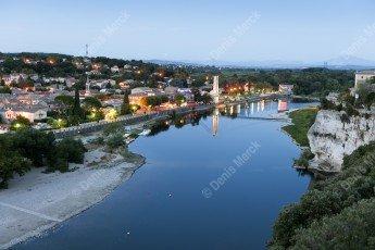 Saint Martin d'Ardèche, porte sud des gorges de l'Ardèche