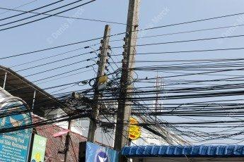 Réseau électrique en Thailande