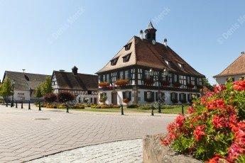 Seebach place de la mairie