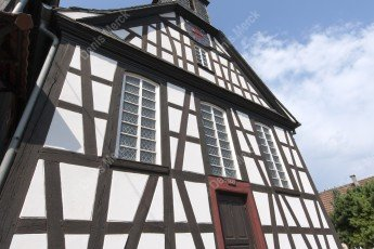 Alsace église protestante de Kuhlendorf