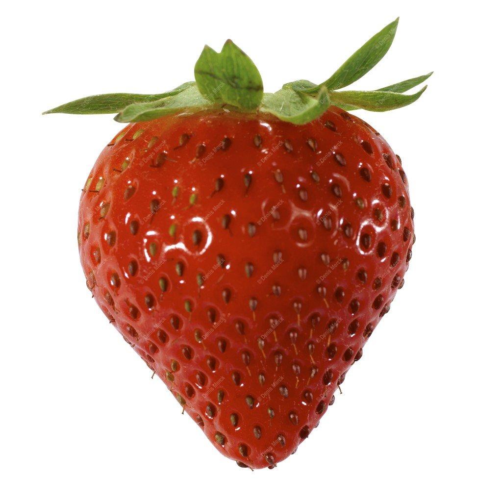 fraise détourée