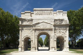 Arc de triomphe de la ville d'Orange