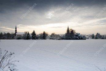 La neige est tombée sur Schweighouse sur Moder