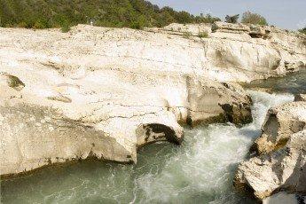 Gard: les cascades de Sautadet à la Roque sur Cèze