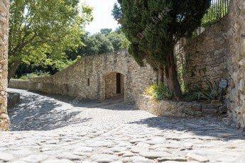 La Roque sur Cèze dans le Gard