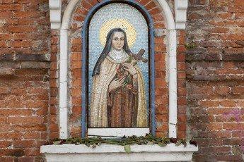 Niche avec la vierge Marie à Venise