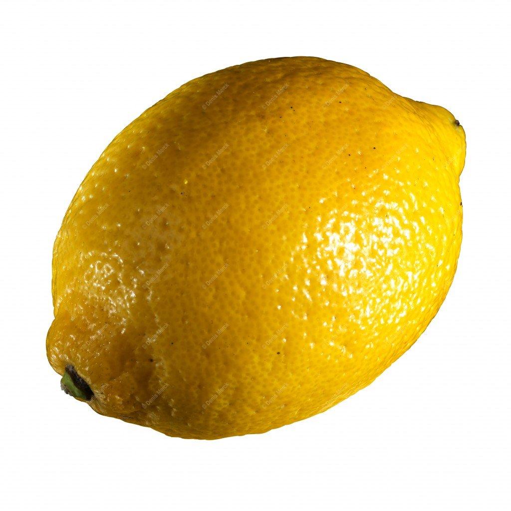 Citron jaune détouré