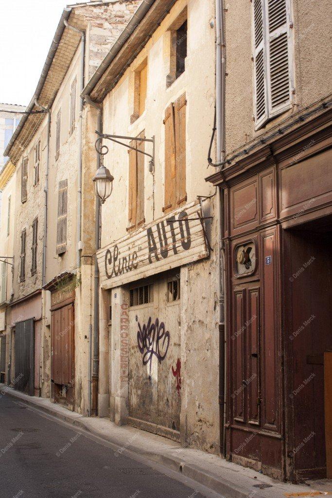 Ruelle de Montélimar dans la Drôme