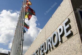 Alsace : Le Palais de l'Europe à Strasbourg