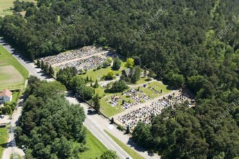 Alsace le cimetière de Schweighouse sur Moder