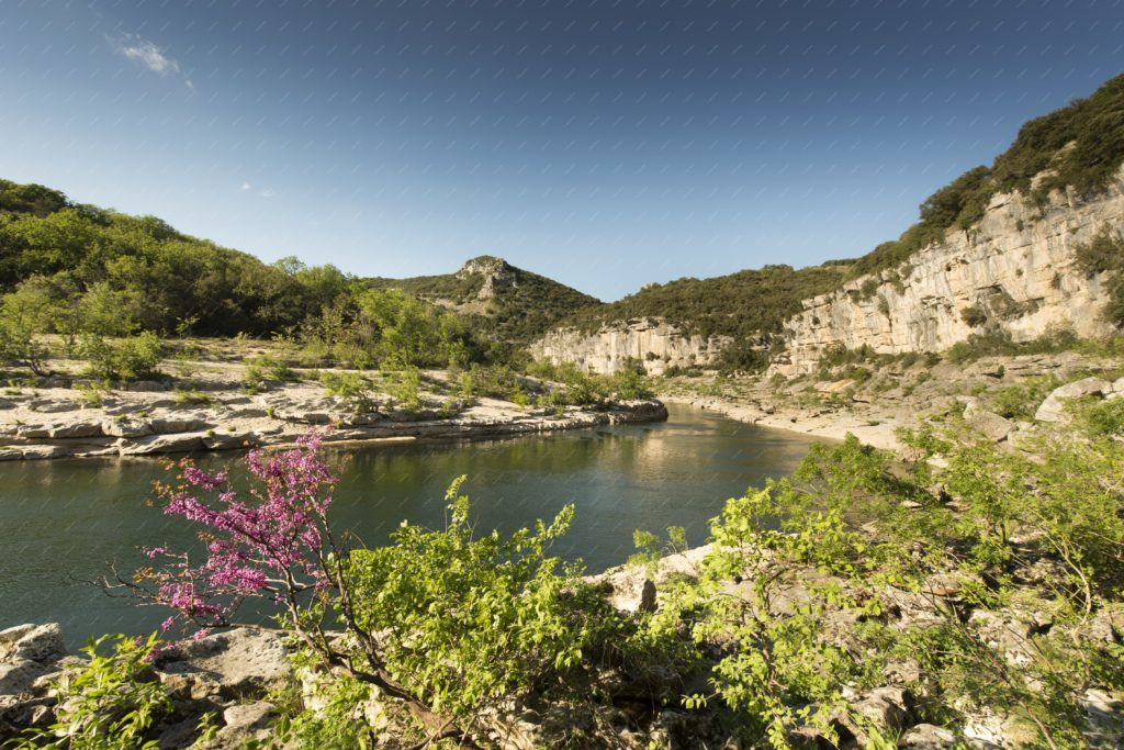 Gorges de l'Ardèche printemps