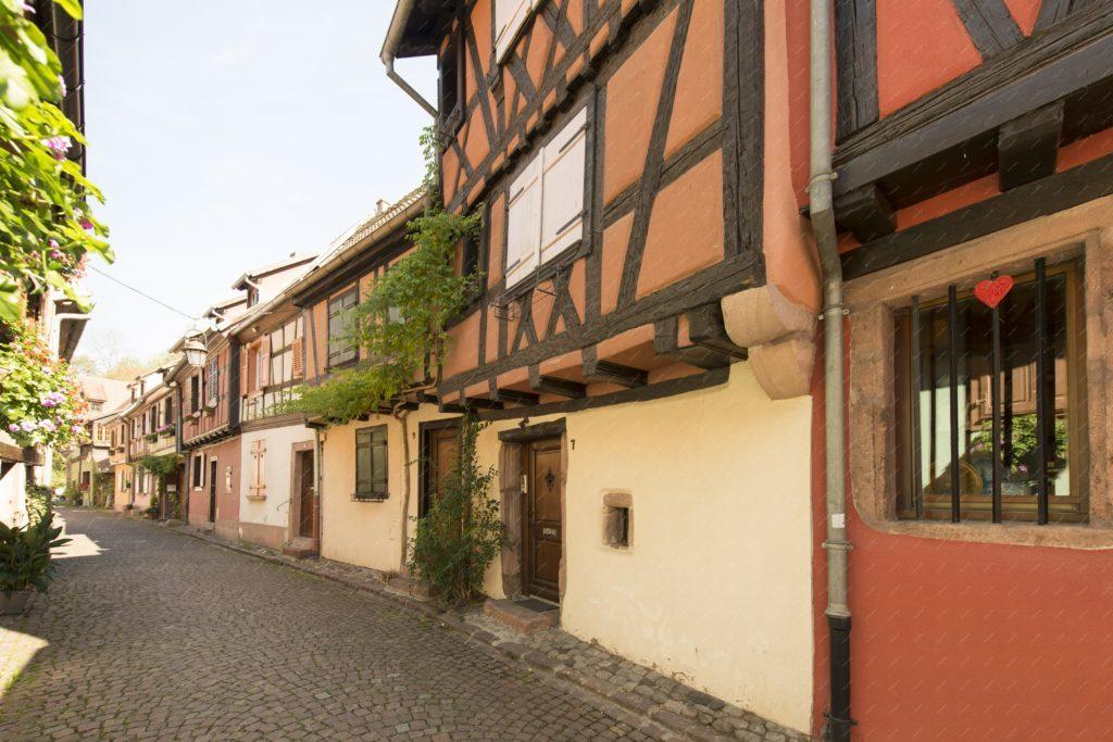 La rue des forgerons à Kaysersberg