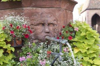 La fontaine Saint-Georges à Haguenau
