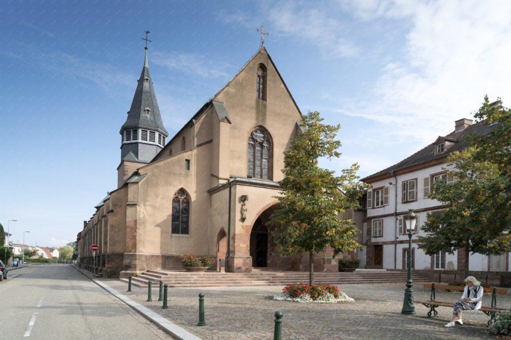 L'église Saint Nicolas de Haguenau