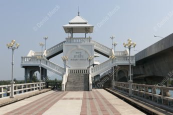 Sarasin bridge en Thaïlande