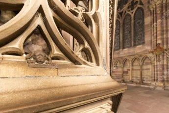 La mascotte de la cathédrale