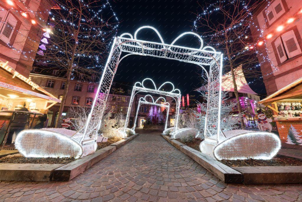Haguenau - illuminations de Noël 2017