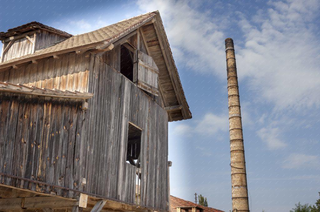 Vieille maison bois