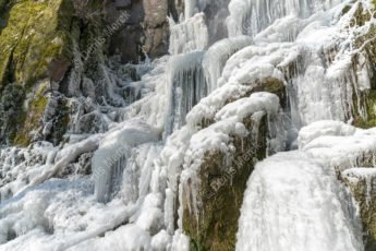 Cascade du Nideck en hiver