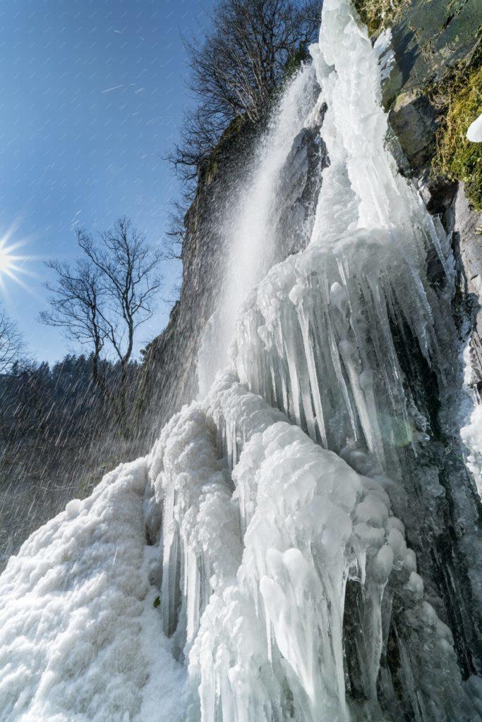 Cascade du Nideck gelée