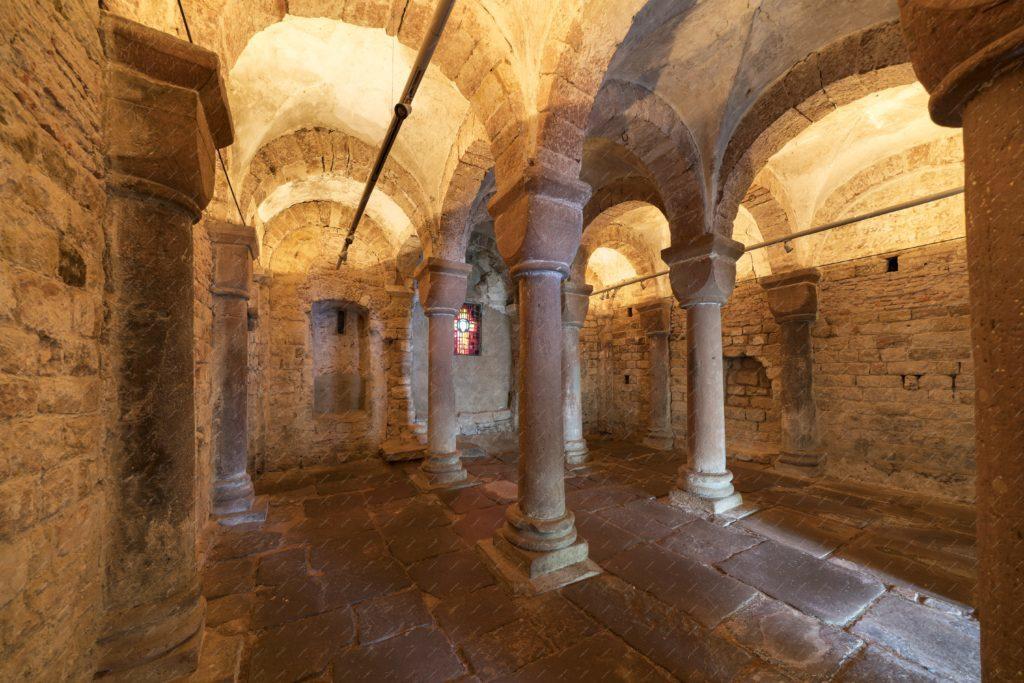 la chapelle romane de Wissembourg