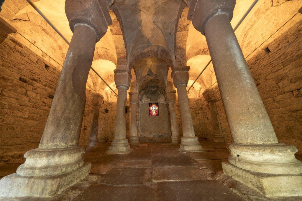 La Chapelle Romane de l'église de Wissembourg