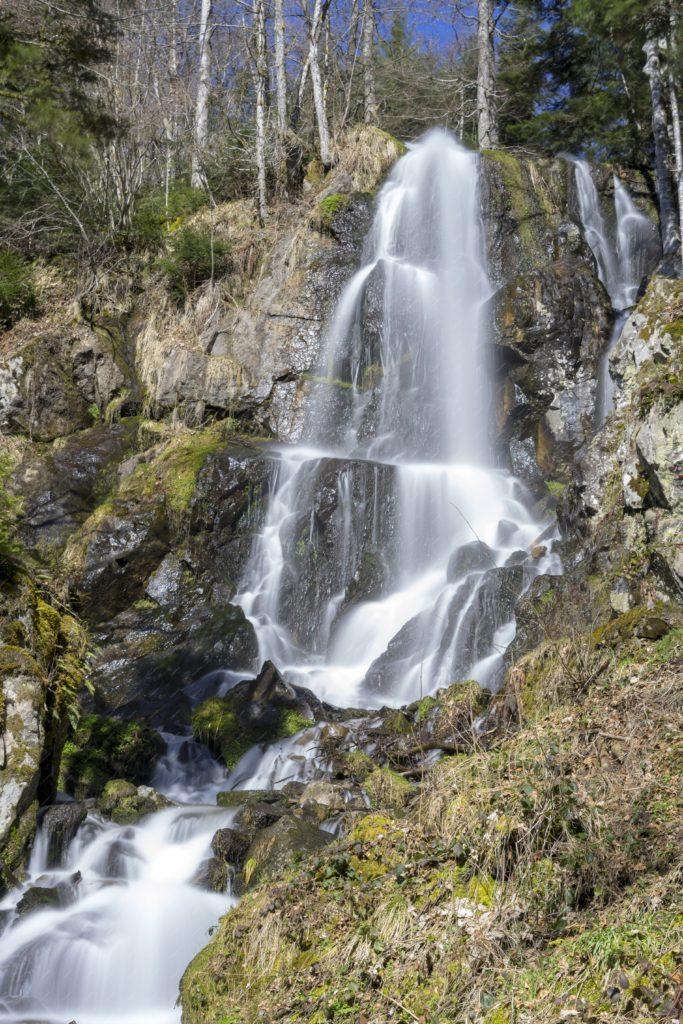 La cascade du Hohwald dans les Vosges