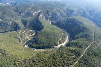 Châmes dans les Gorges de l'Ardèche