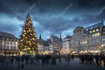 Sapin de Noël de Strasbourg en 2018