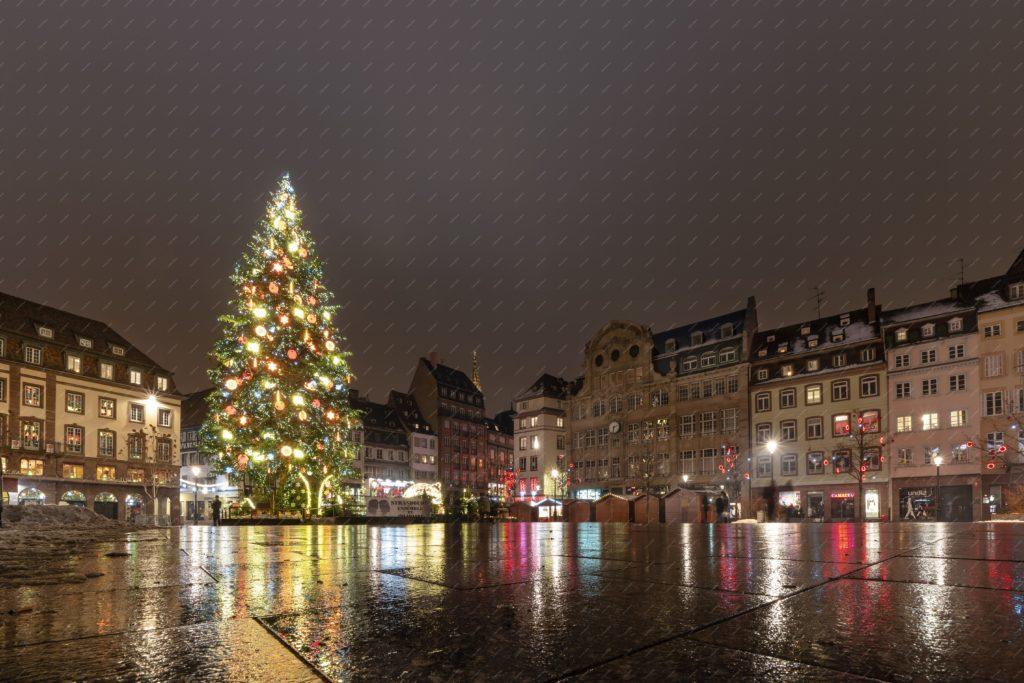 Le sapin de Noel de Strasbourg en 2018