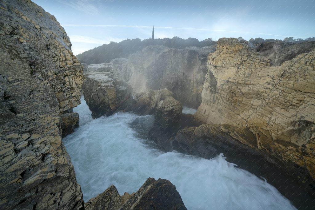 Les cascades du Sautadet au lever du jour