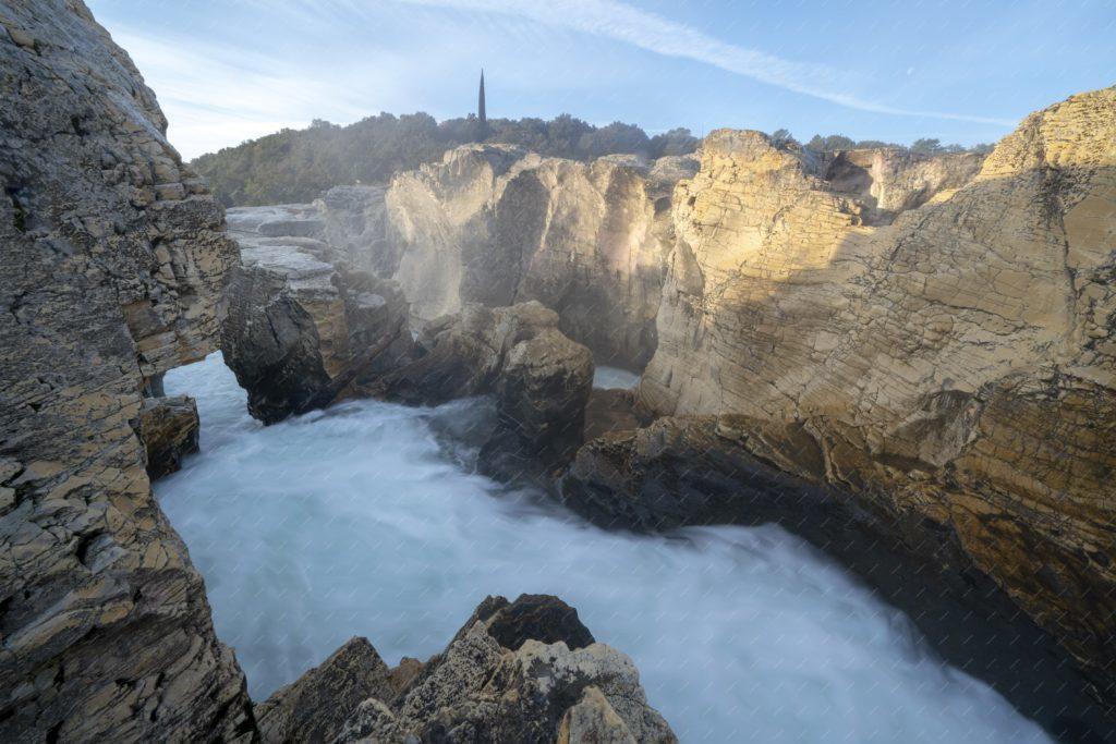 Les cascades du Sautadet en hiver