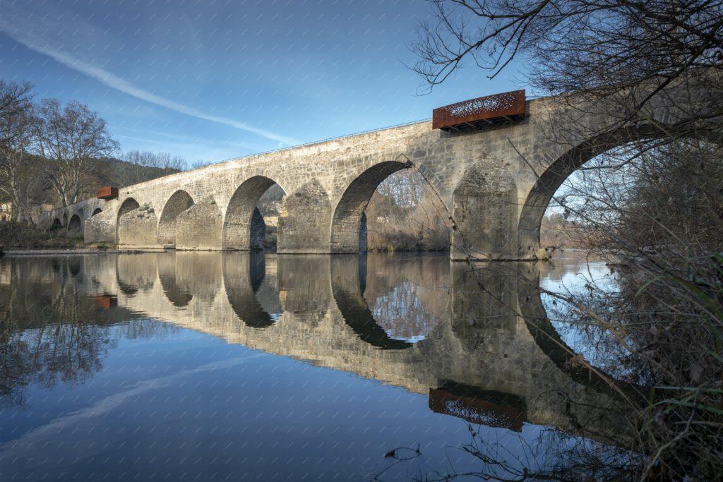 Pont Charles-Martel sur la Cèze