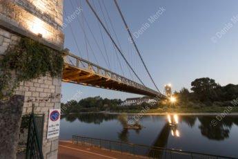 Pont suspendu de Saint Martin d'Ardèche