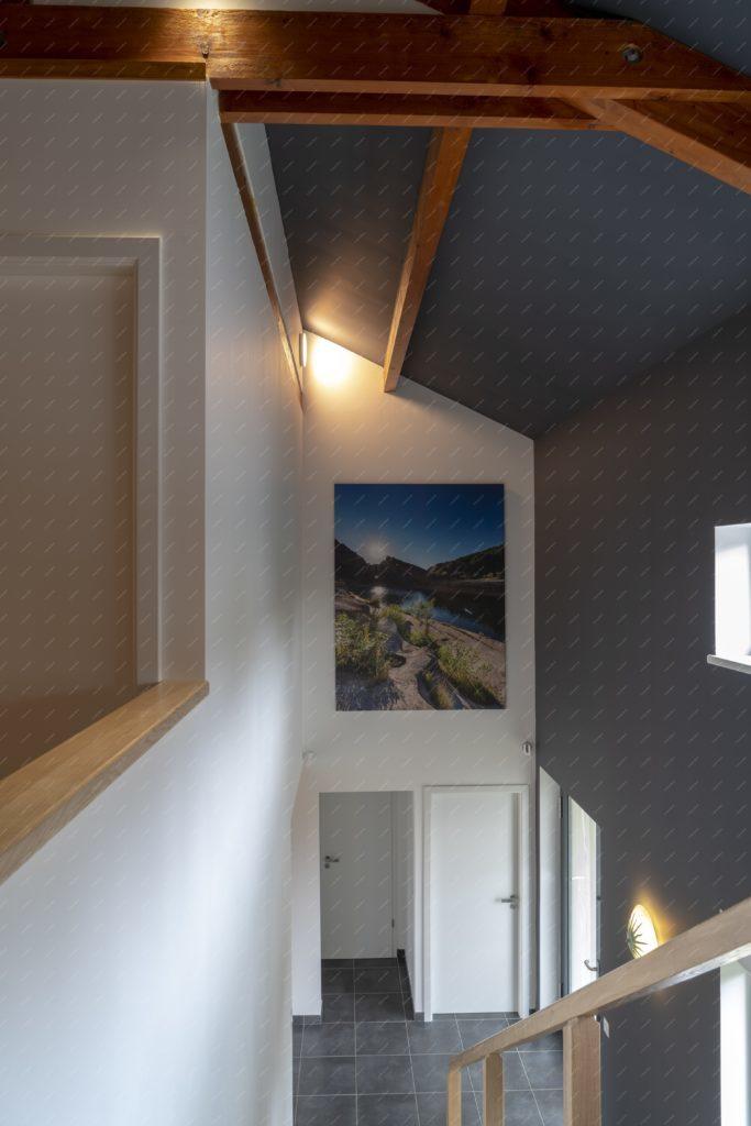 Intérieur d'une maison contemporaine