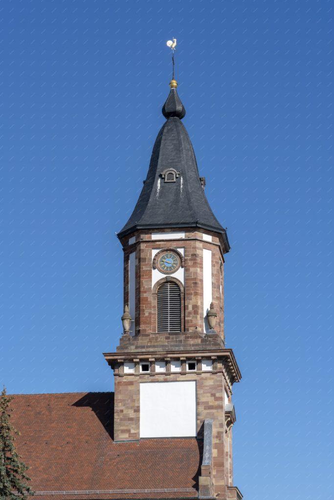 Clocher de l'église de Weyersheim