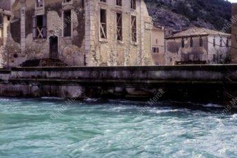 Ancienne vue du village de Fontaine de Vaucluse