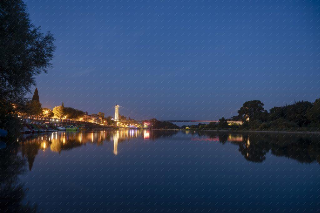 Saint Martin d'Ardèche de nuit