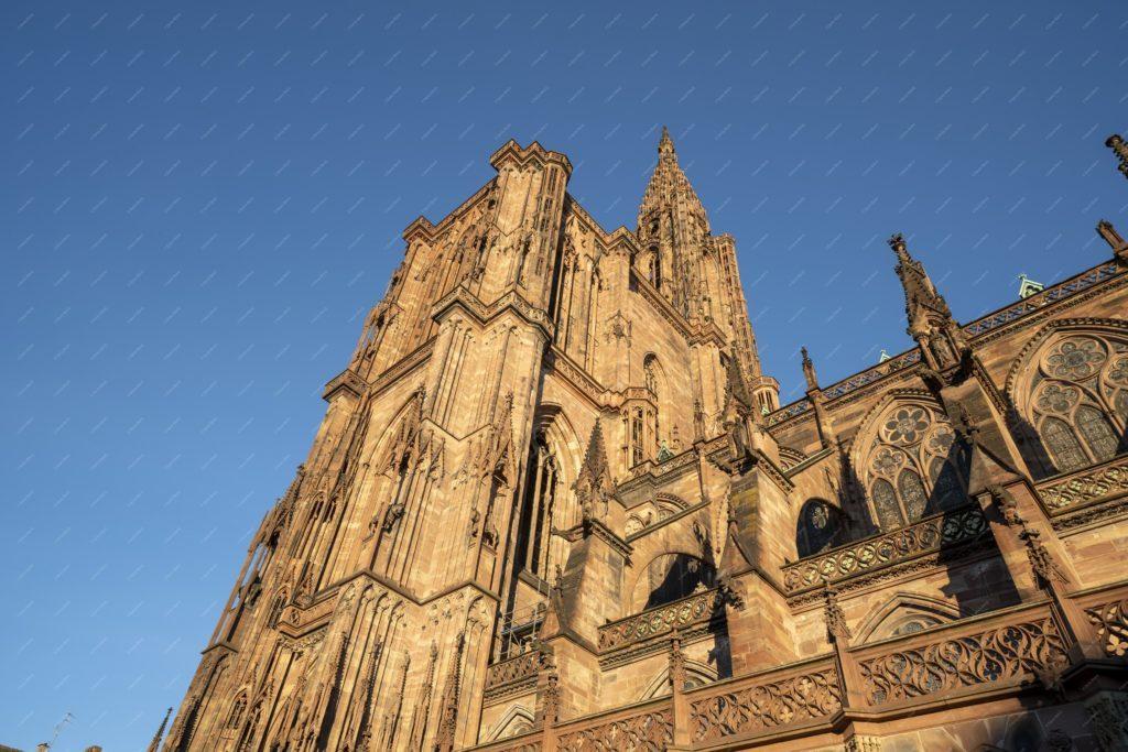 Photo de la cathédrale de Strasbourg
