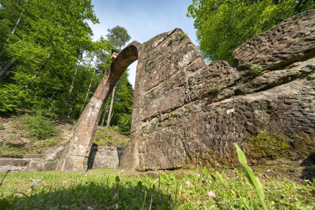 Vestiges de la chapelle de Climbach