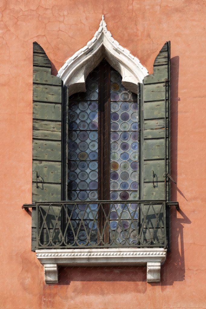 Fenêtre de la renaissance à Venise