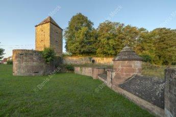 La tour de la Poudrière de Wissembourg