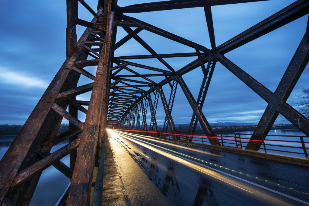 Pont de Beinheim sur le Rhin